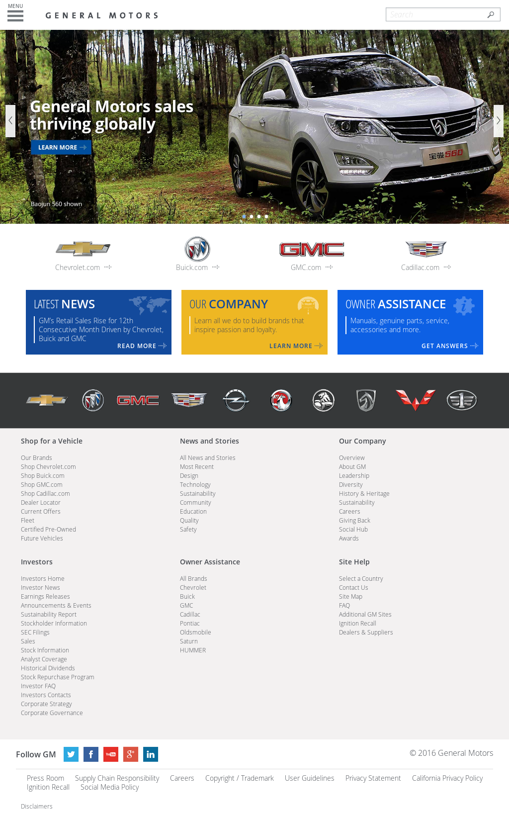General Motors Company Profile Owler
