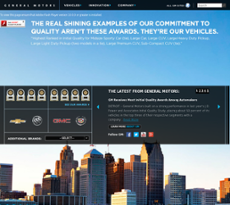 General Motors website history