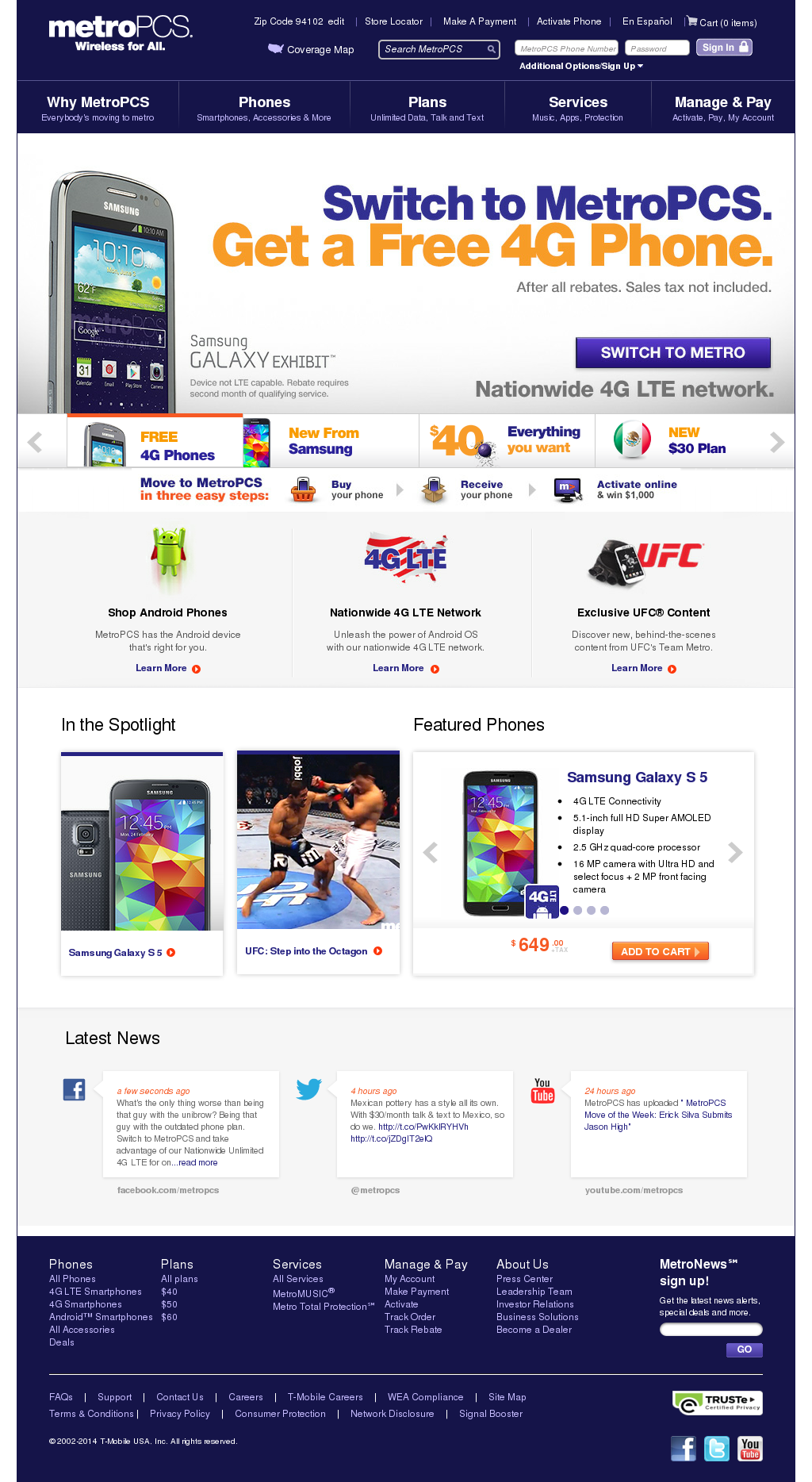 Metro PCS Competitors, Revenue and Employees - Owler Company