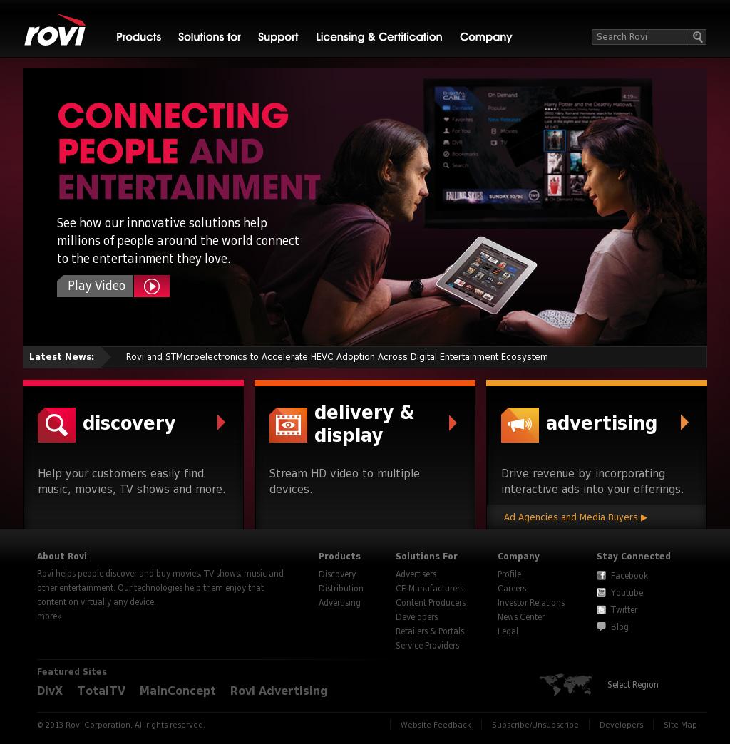 Rovi Competitors, Revenue and Employees - Owler Company Profile