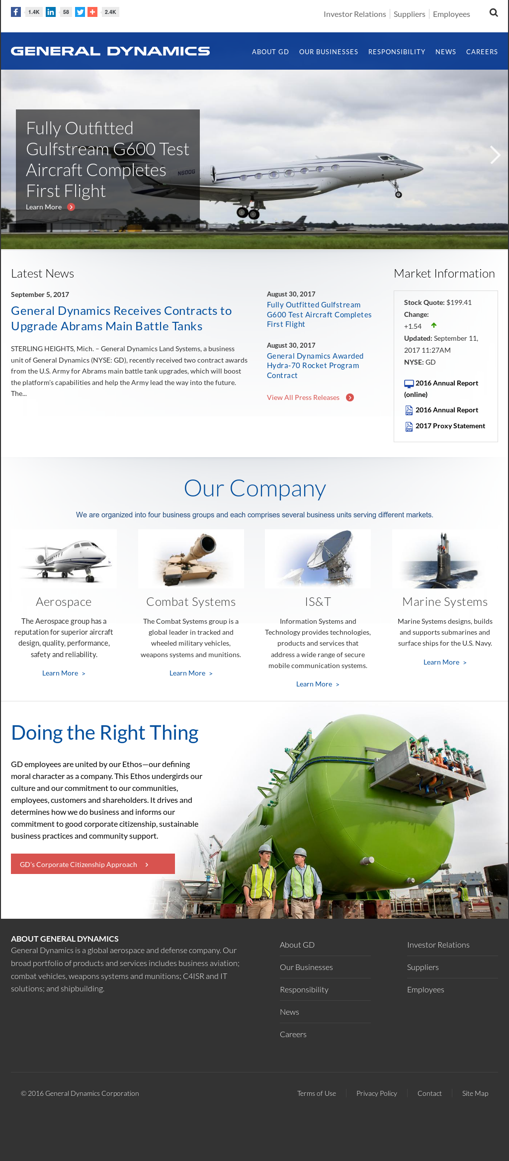 General Dynamics Competitors, Revenue and Employees - Owler