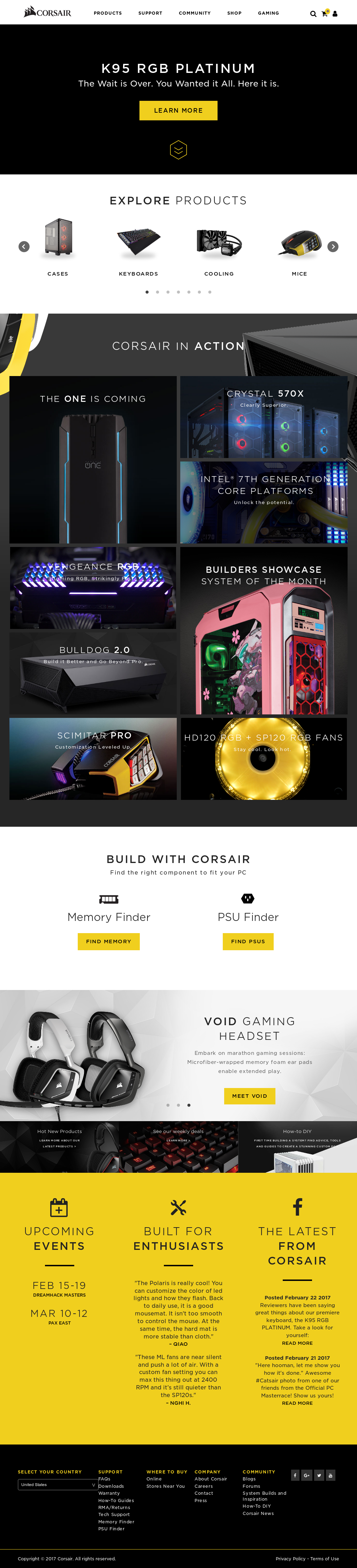 Corsair Competitors, Revenue and Employees - Owler Company Profile