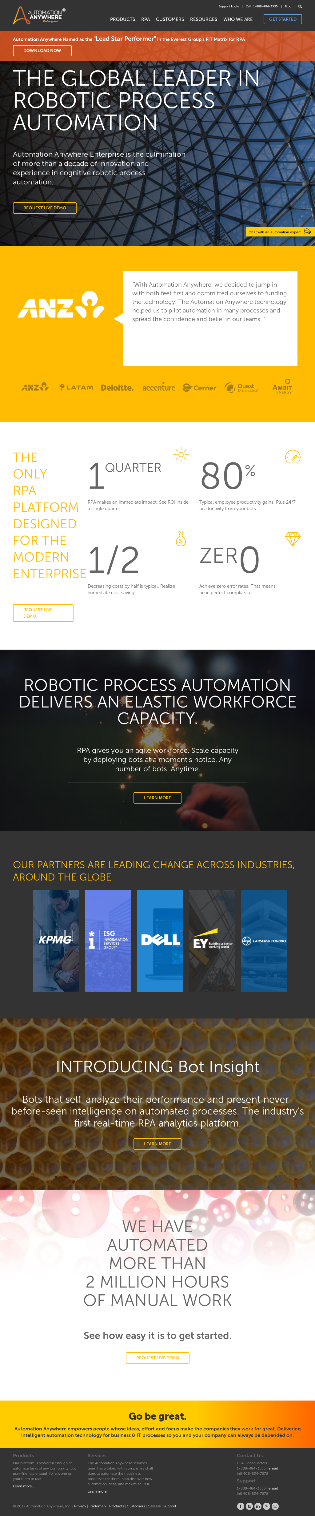 Automation Anywhere Competitors, Revenue and Employees