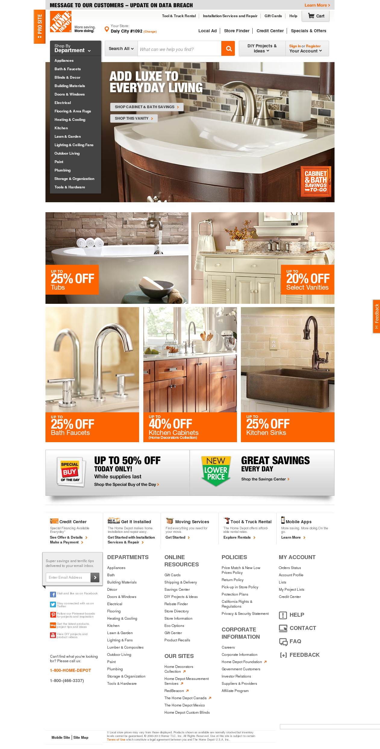 Home Depot petitors Revenue and Employees Owler pany Profile