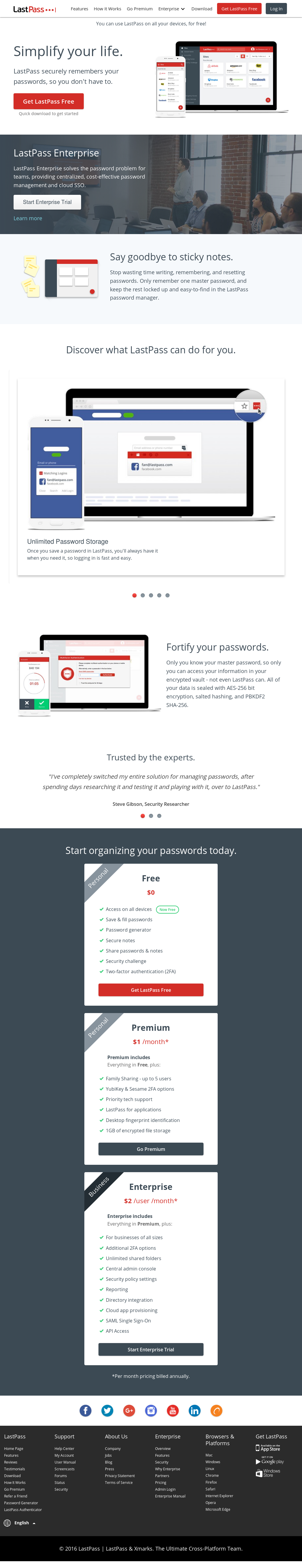 LastPass Competitors, Revenue and Employees - Owler Company Profile