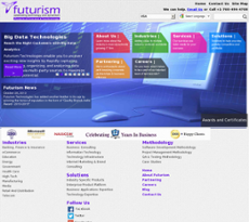 Futurism Tech website history