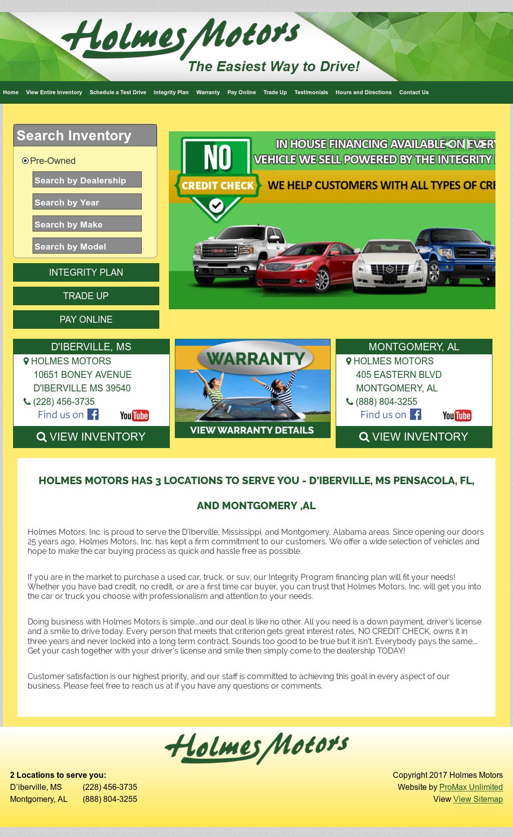 Holmes Motors Montgomery Al >> Holmesmotors Competitors Revenue And Employees Owler