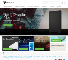 Seagate website history