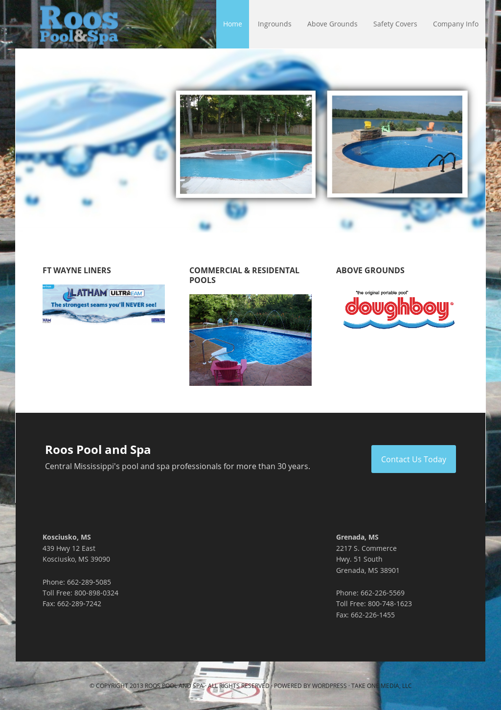 Roos Pool And Spa Grenada Ms Tyres2c