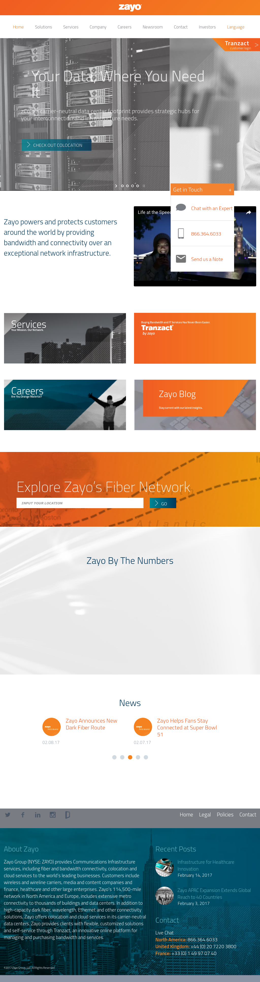 Zayo Group Competitors, Revenue and Employees - Owler Company Profile