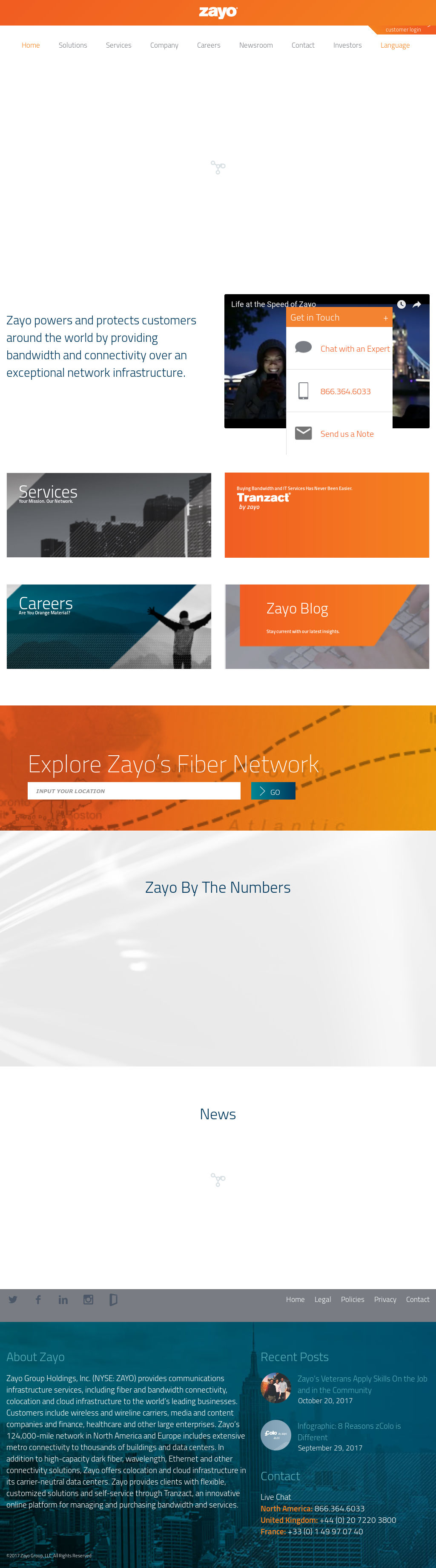 Zayo Group Competitors, Revenue and Employees - Owler