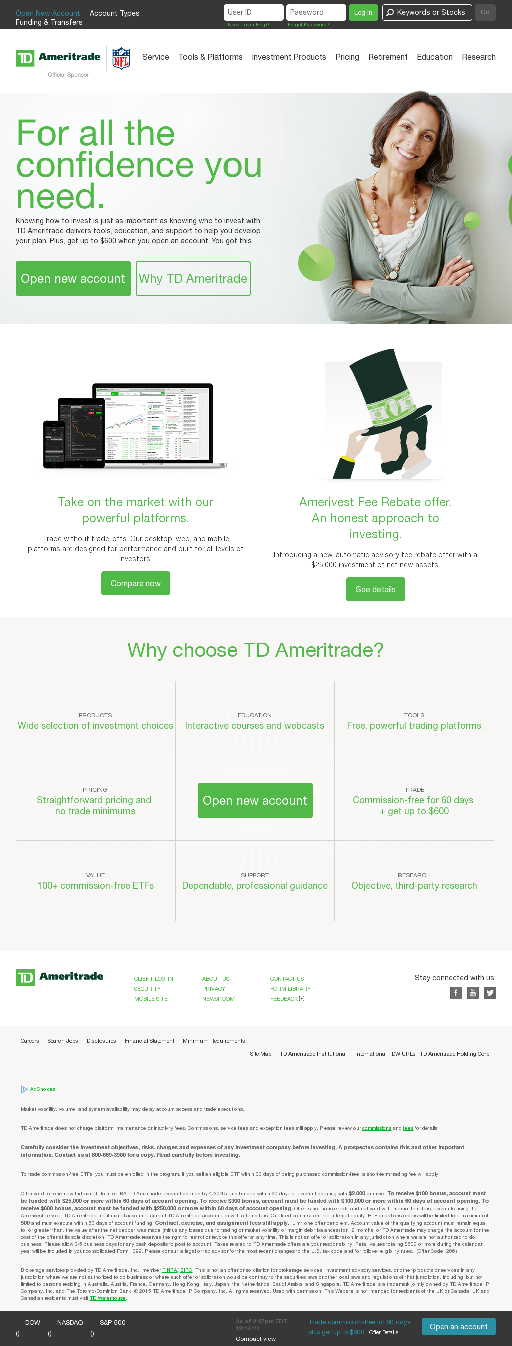 TD Ameritrade Competitors, Revenue and Employees - Owler Company Profile