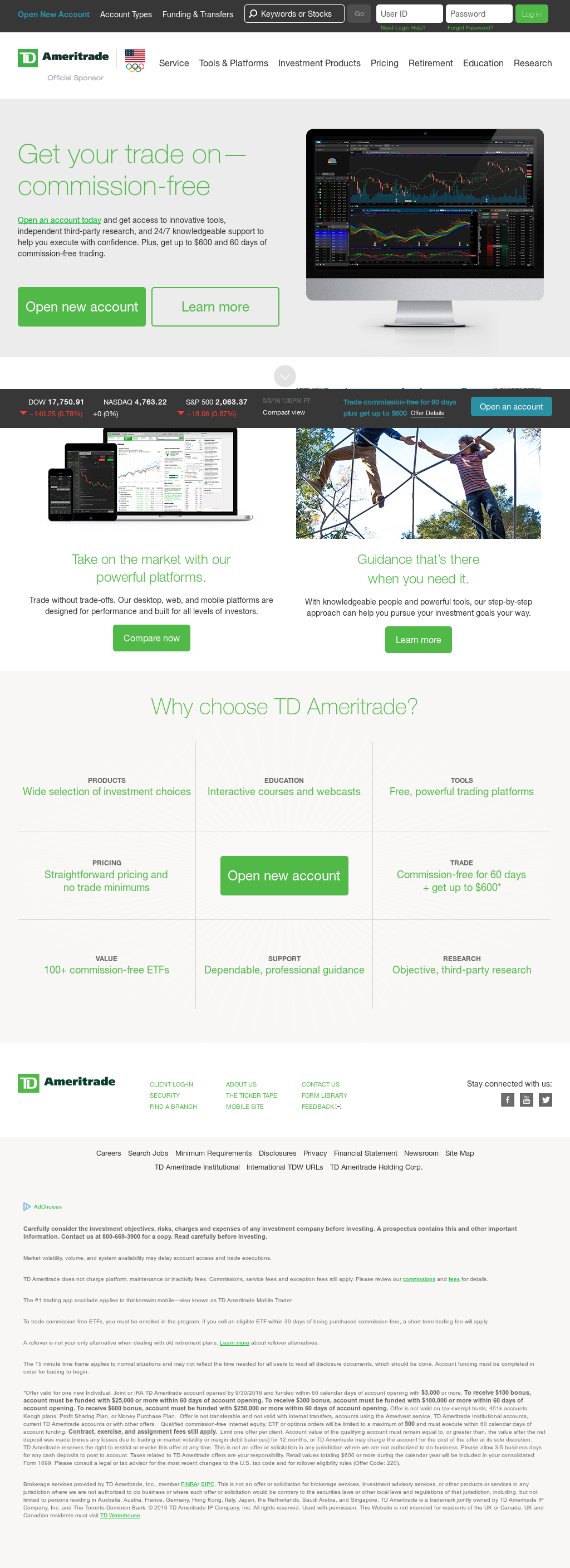 TD Ameritrade Competitors, Revenue and Employees - Owler