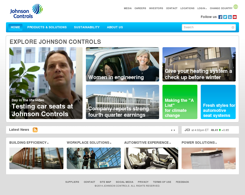 Johnson Controls Competitors, Revenue and Employees - Owler