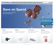 PurchasingNet website history