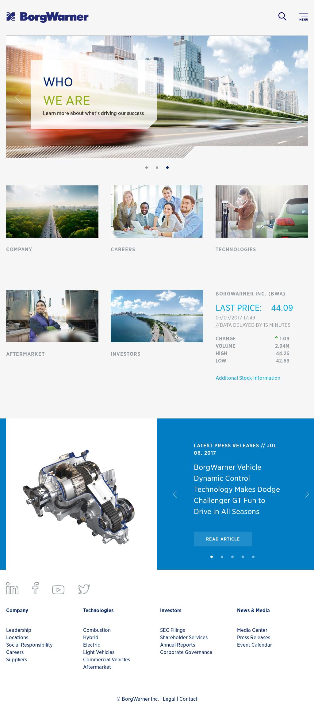 Borgwarner Competitors, Revenue and Employees - Owler Company Profile