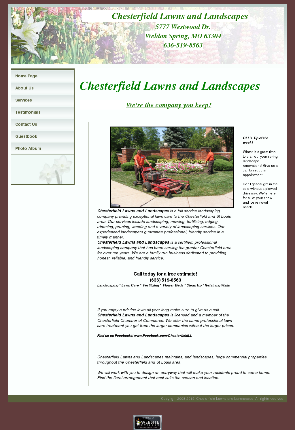 Chesterfield Lawns And Landscapes Compeors Revenue