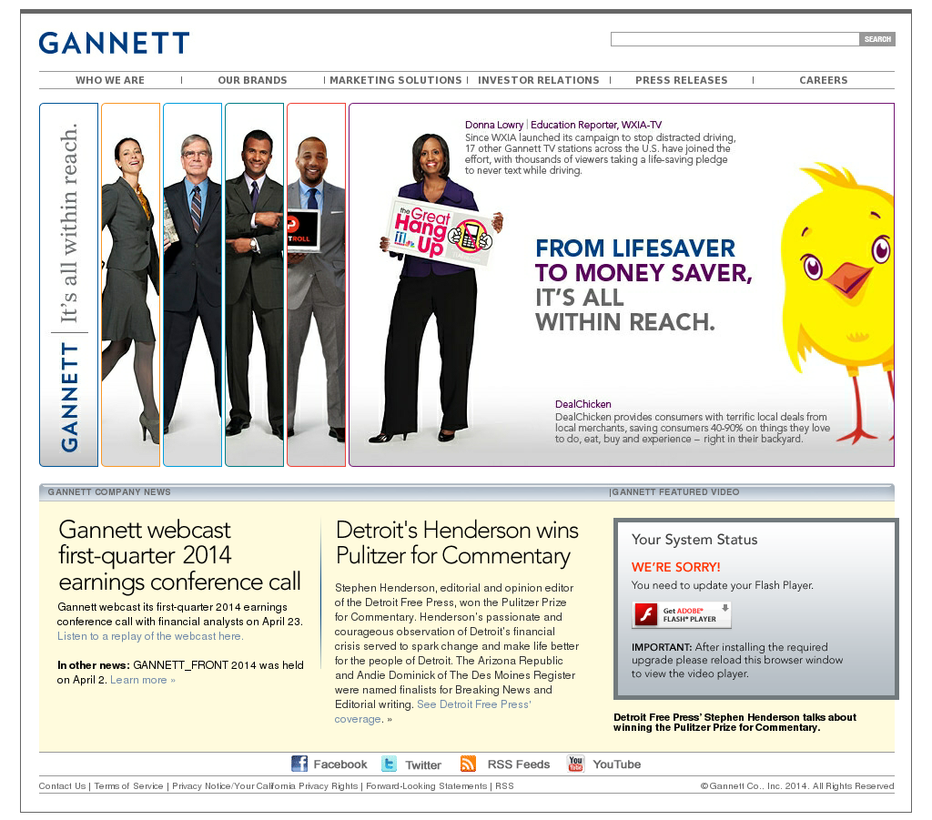 Gannett Competitors, Revenue and Employees - Owler Company