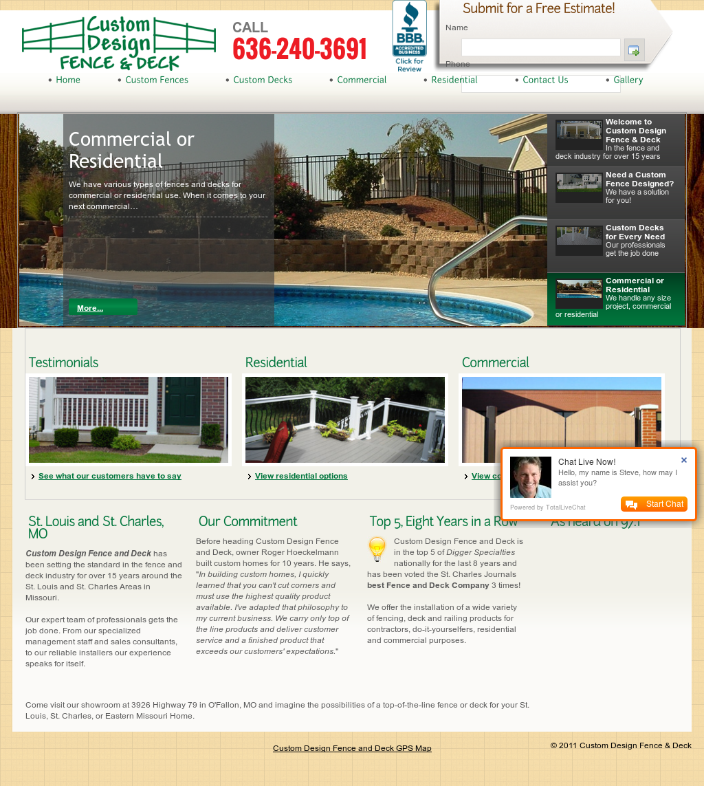 Custom Design Fence Deck Competitors Revenue And Employees