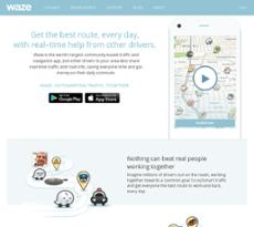 Waze website history
