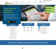 Sertifi website history