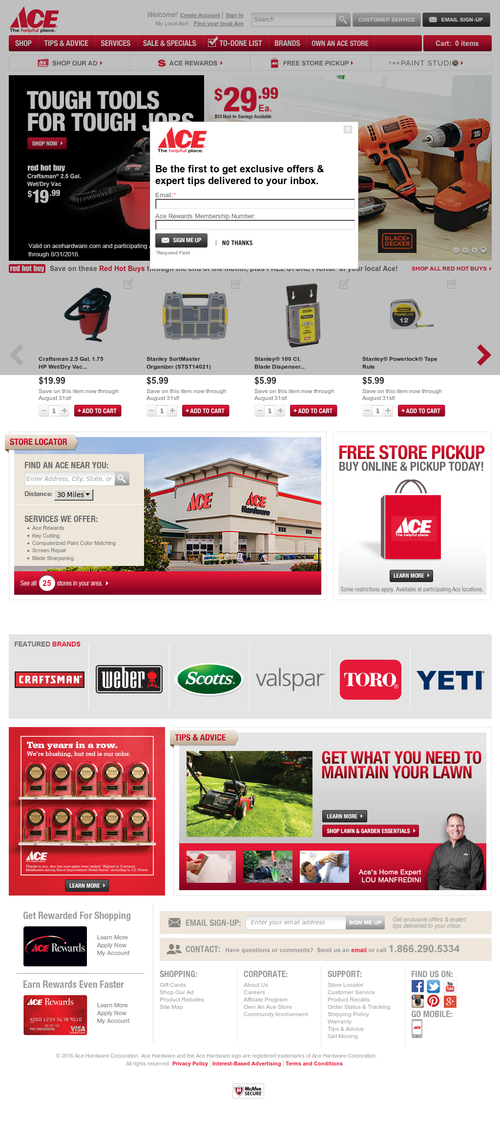 Ace Hardware Competitors, Revenue and Employees - Owler