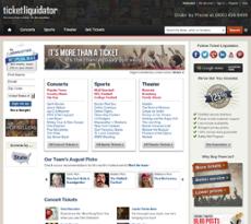 Ticket Liquidator website history