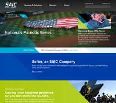 SAIC website history