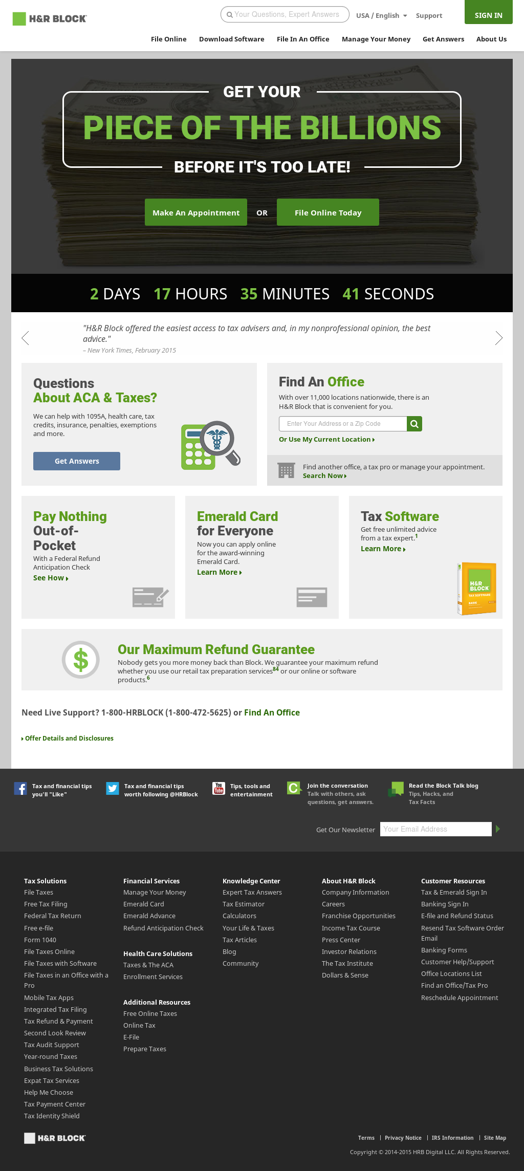 H R Block Competitors Revenue And Employees Owler Company Profile