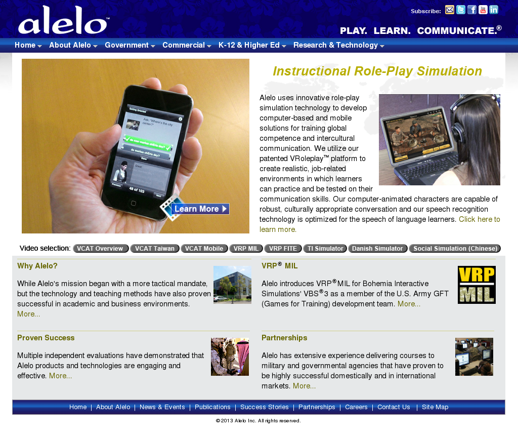 Alelo Competitors, Revenue and Employees - Owler Company Profile