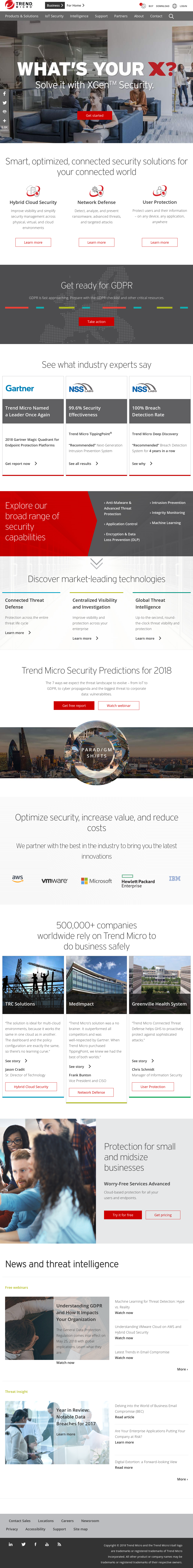 Trend Micro Competitors, Revenue and Employees - Owler Company Profile