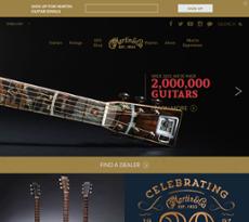 C.F. Martin & Co website history