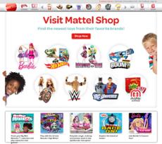 Mattel website history