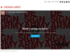 Design Army website history
