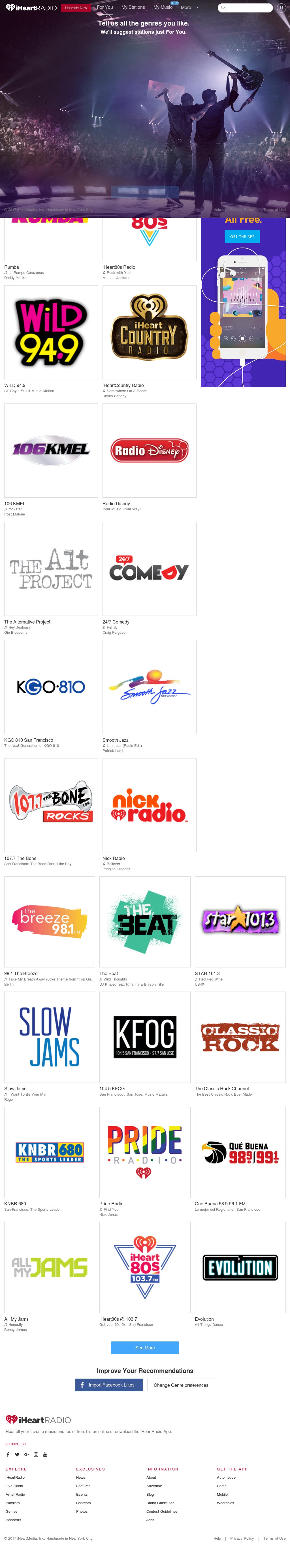 iHeartRadio Competitors, Revenue and Employees - Owler Company Profile
