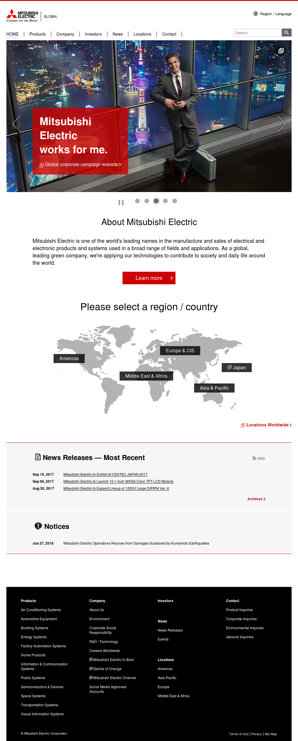 Owler Reports - Press Release: Mitsubishi Electric