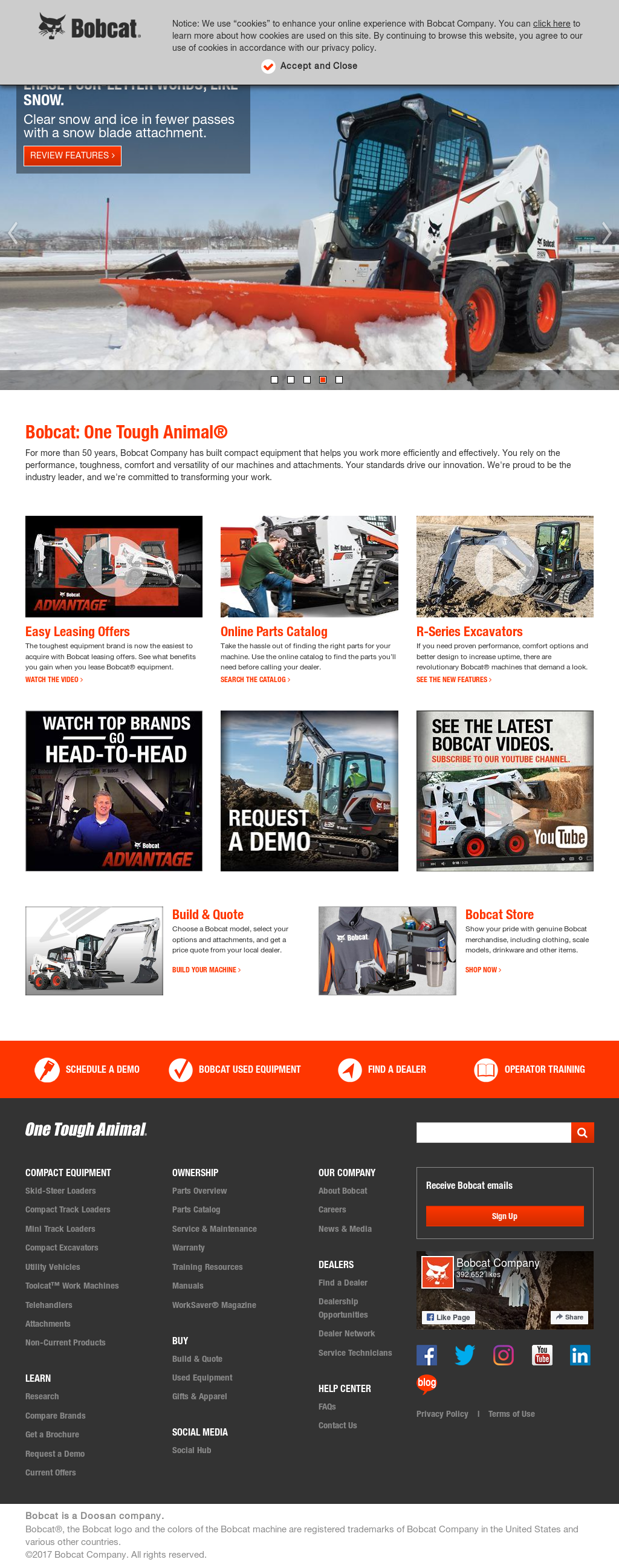 Bobcat Competitors, Revenue and Employees - Owler Company