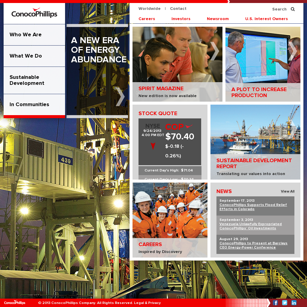 ConocoPhillips Competitors, Revenue and Employees - Owler