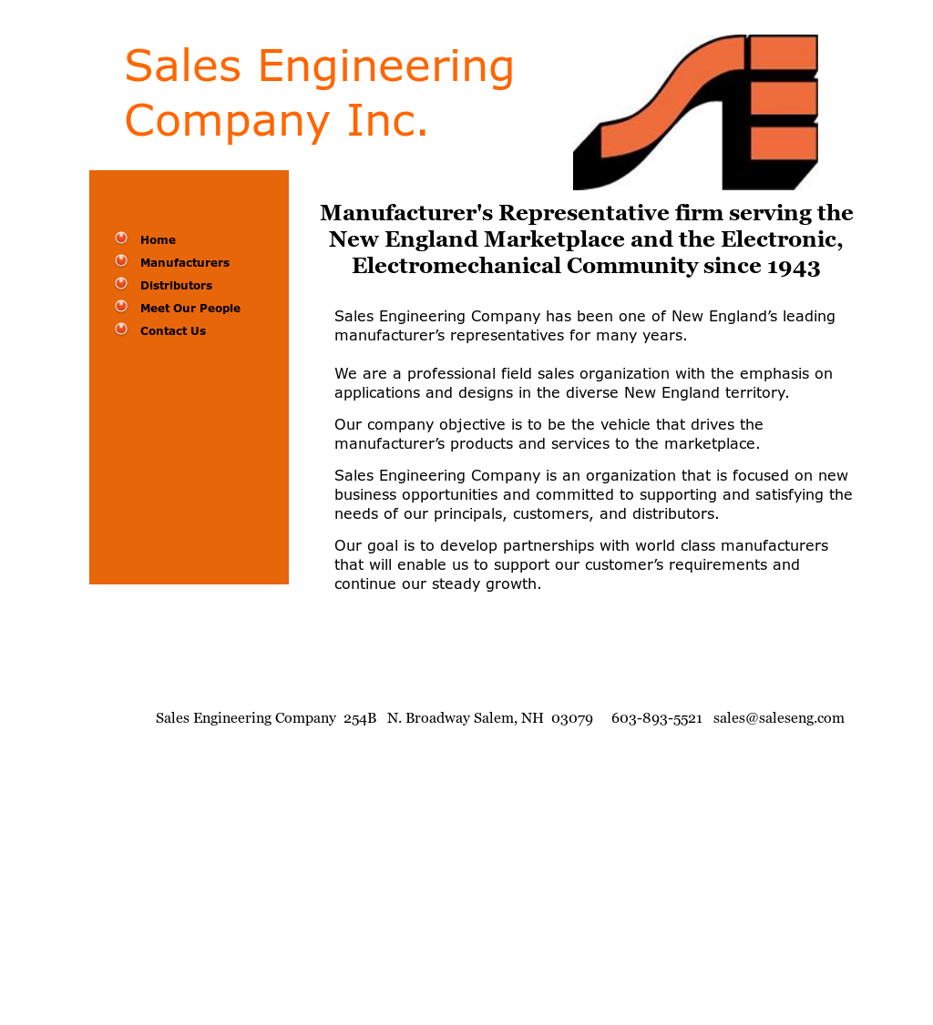 Sales Engineering Company Competitors, Revenue and Employees