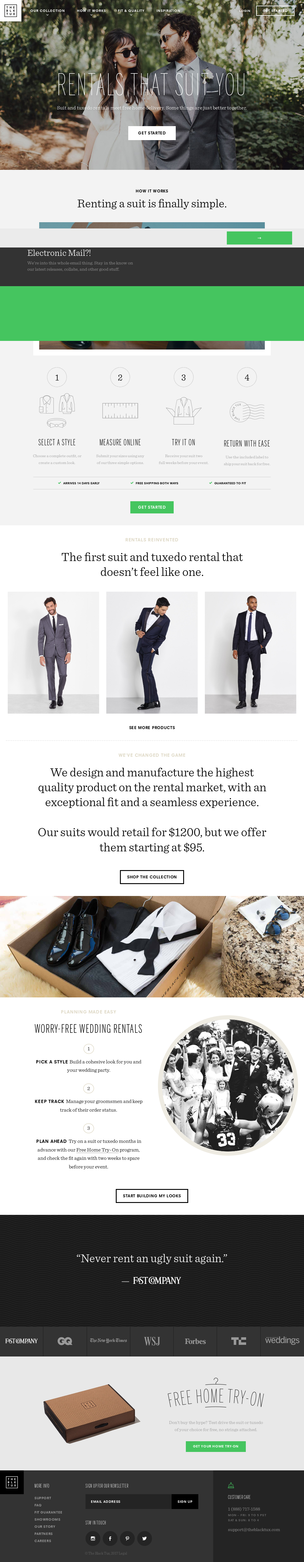 c7f01730d11 The Black Tux Competitors, Revenue and Employees - Owler Company Profile