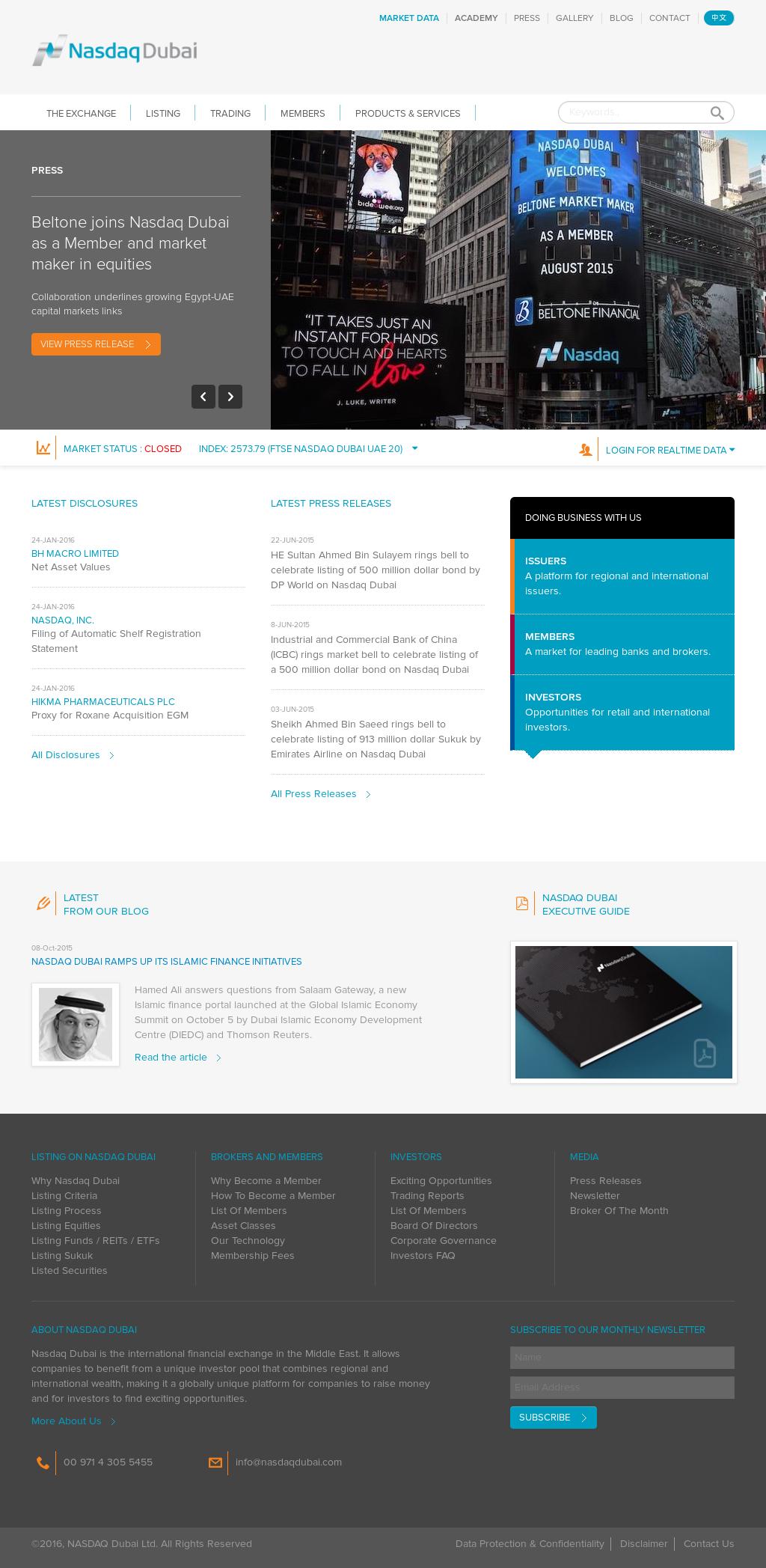NASDAQ Dubai Competitors, Revenue and Employees - Owler Company Profile
