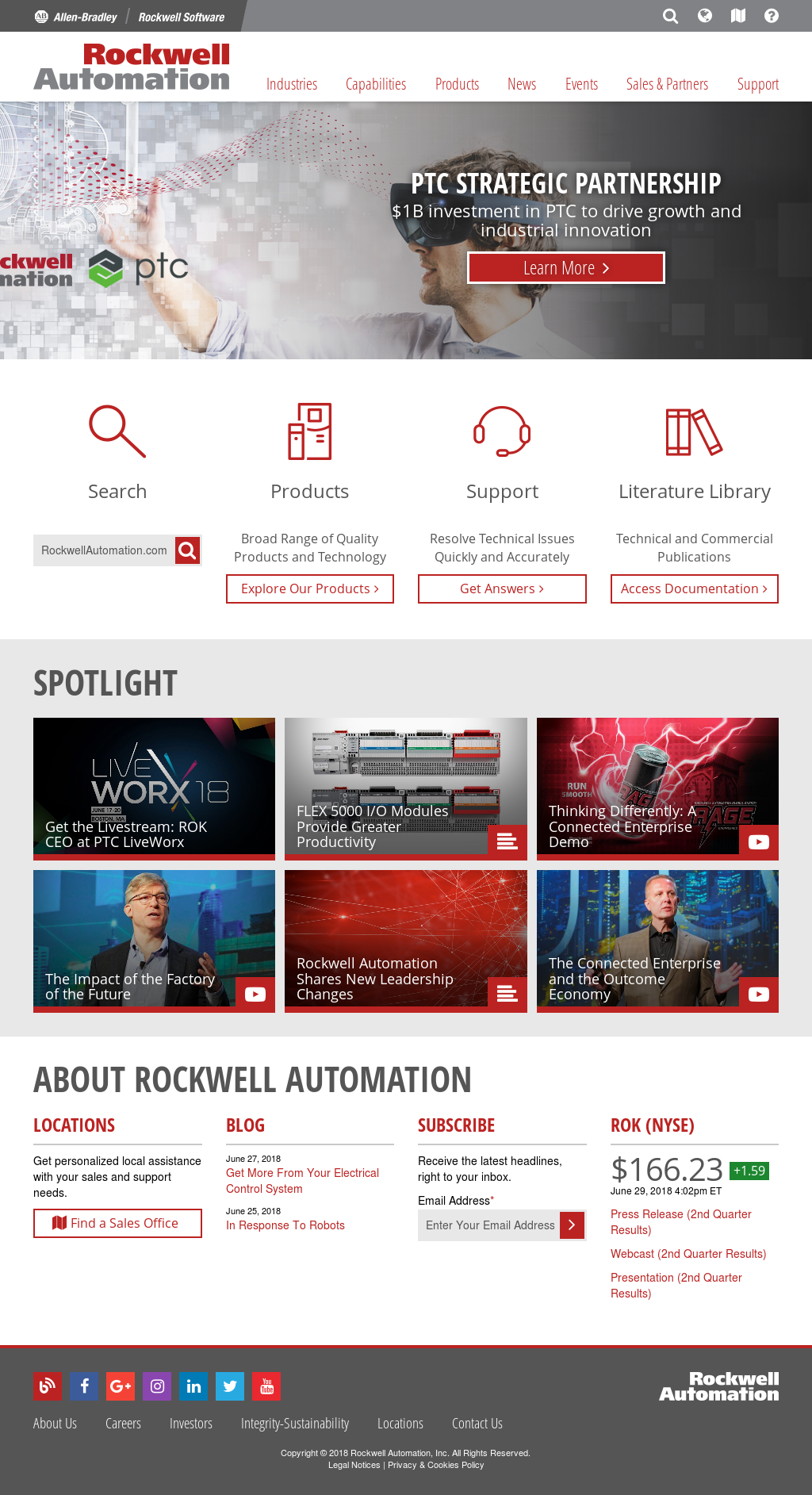 Rockwell Automation Competitors, Revenue and Employees - Owler