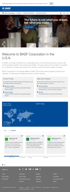 BASF Competitors, Revenue and Employees - Owler Company Profile