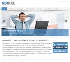 CIO Technology website history
