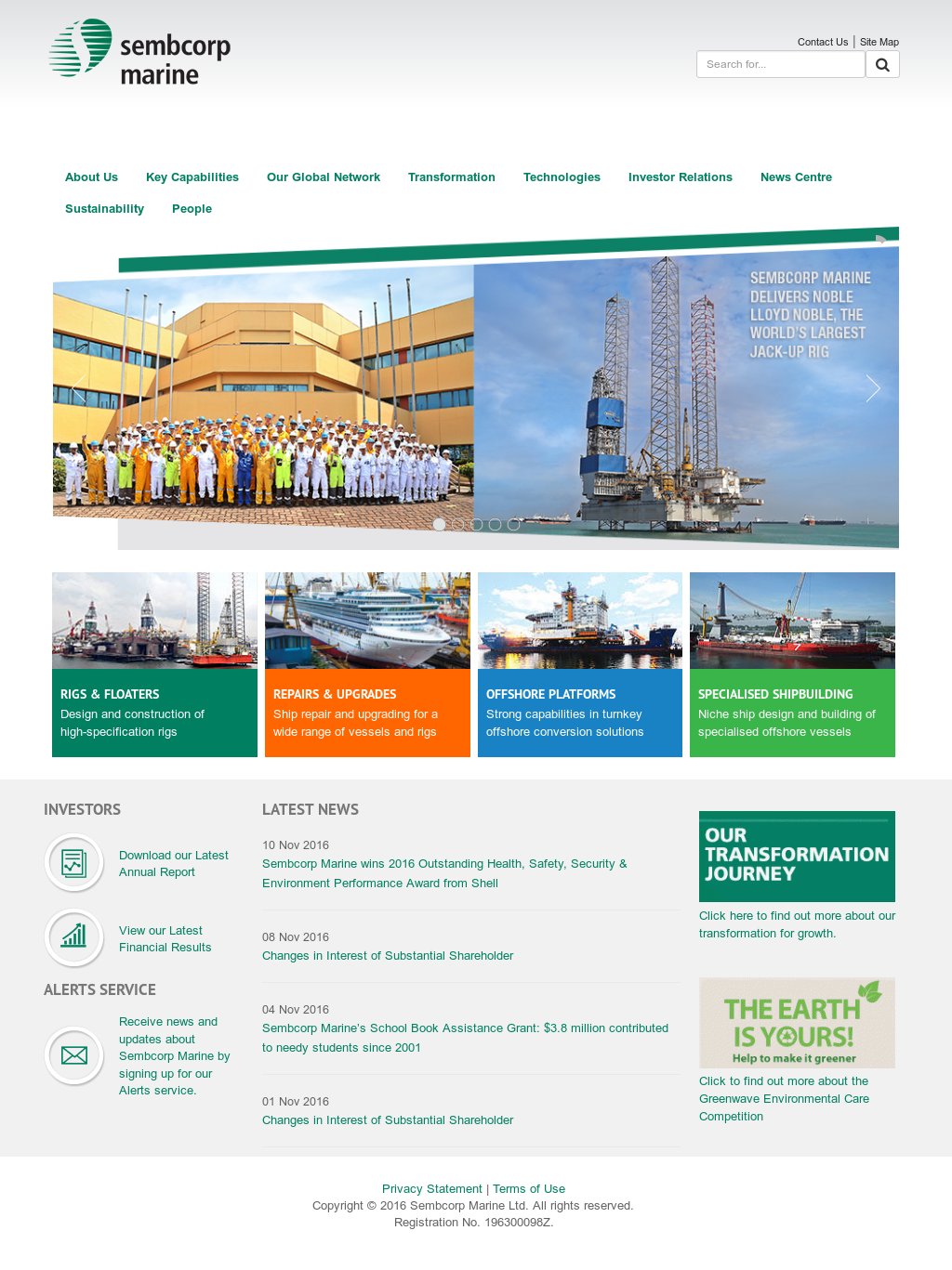 Sembcorp Marine Competitors, Revenue and Employees - Owler