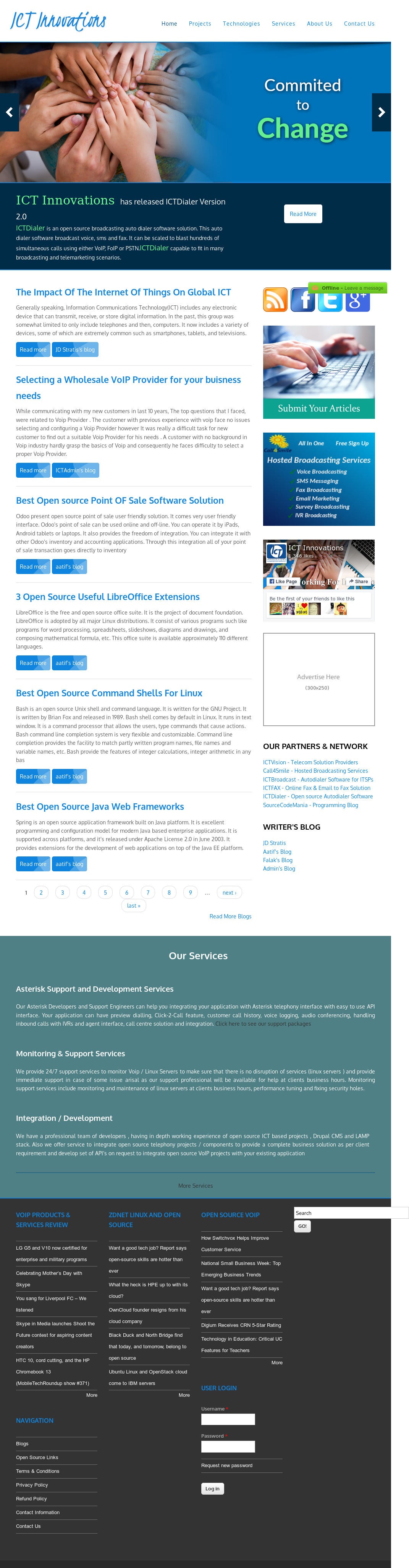 Owler Reports - ICT Innovations Blog Open Source Voip