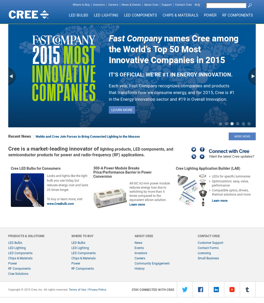 Cree Competitors, Revenue and Employees - Owler Company Profile
