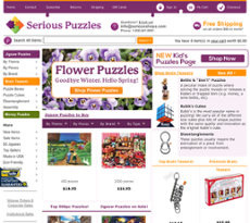 Serious Puzzles Competitors, Revenue and Employees - Owler
