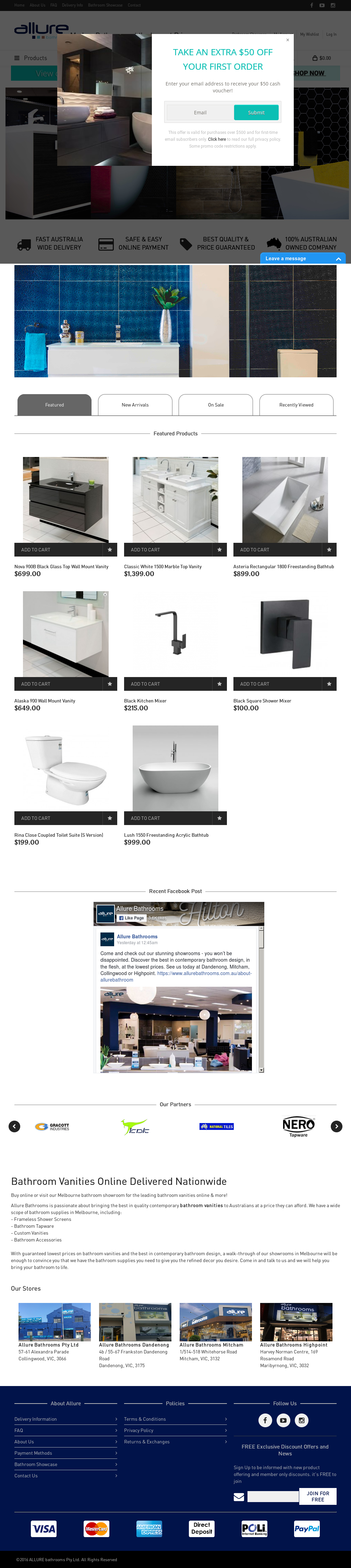 Allurebathrooms Competitors, Revenue And Employees   Owler Company Profile