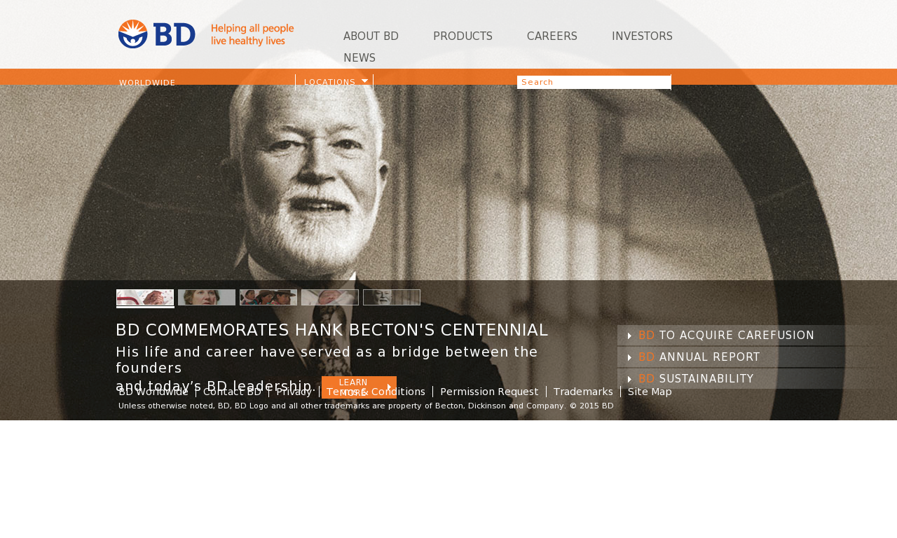 BD Competitors, Revenue and Employees - Owler Company Profile